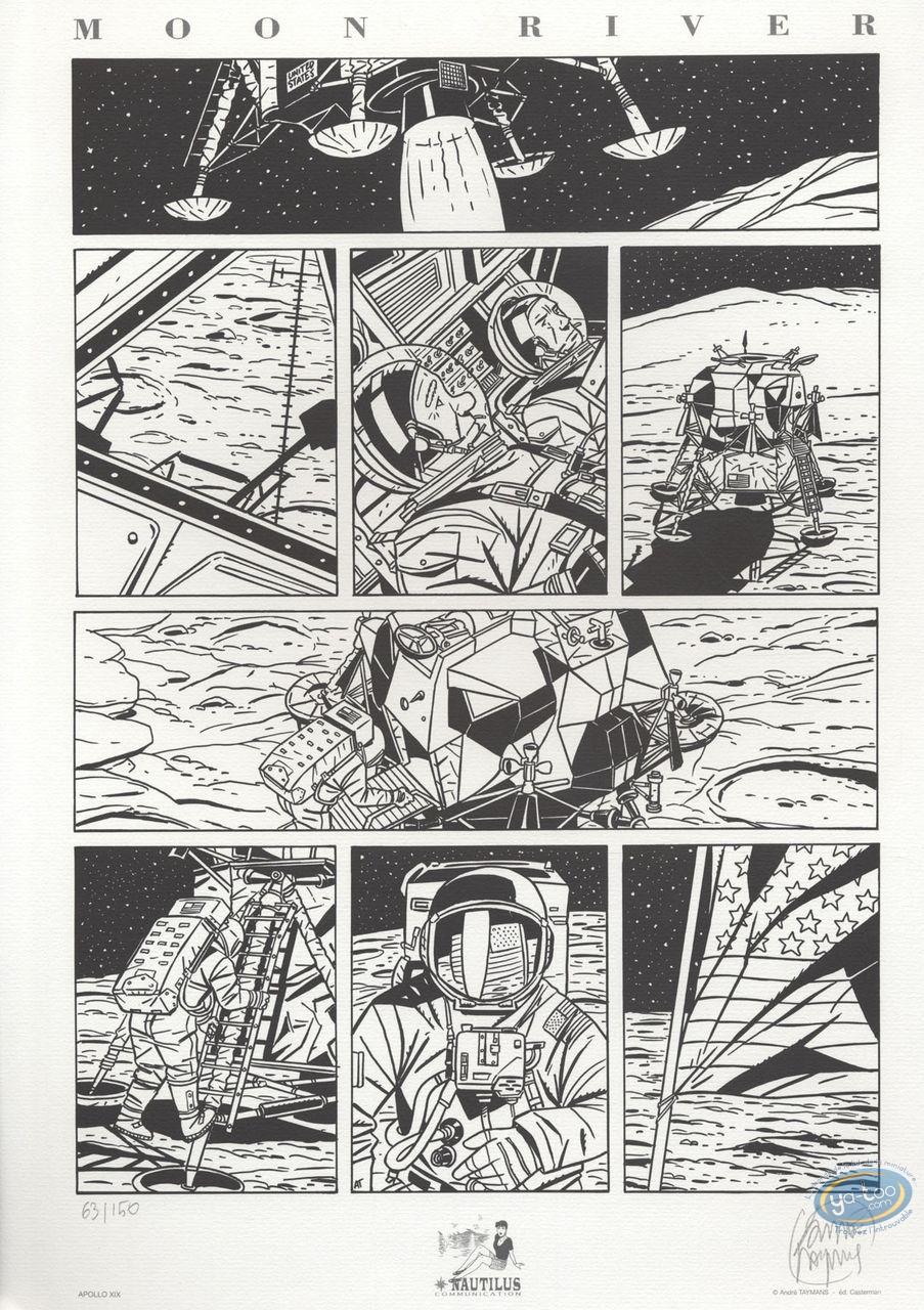 Offset Print, Caroline Baldwin : Moon River