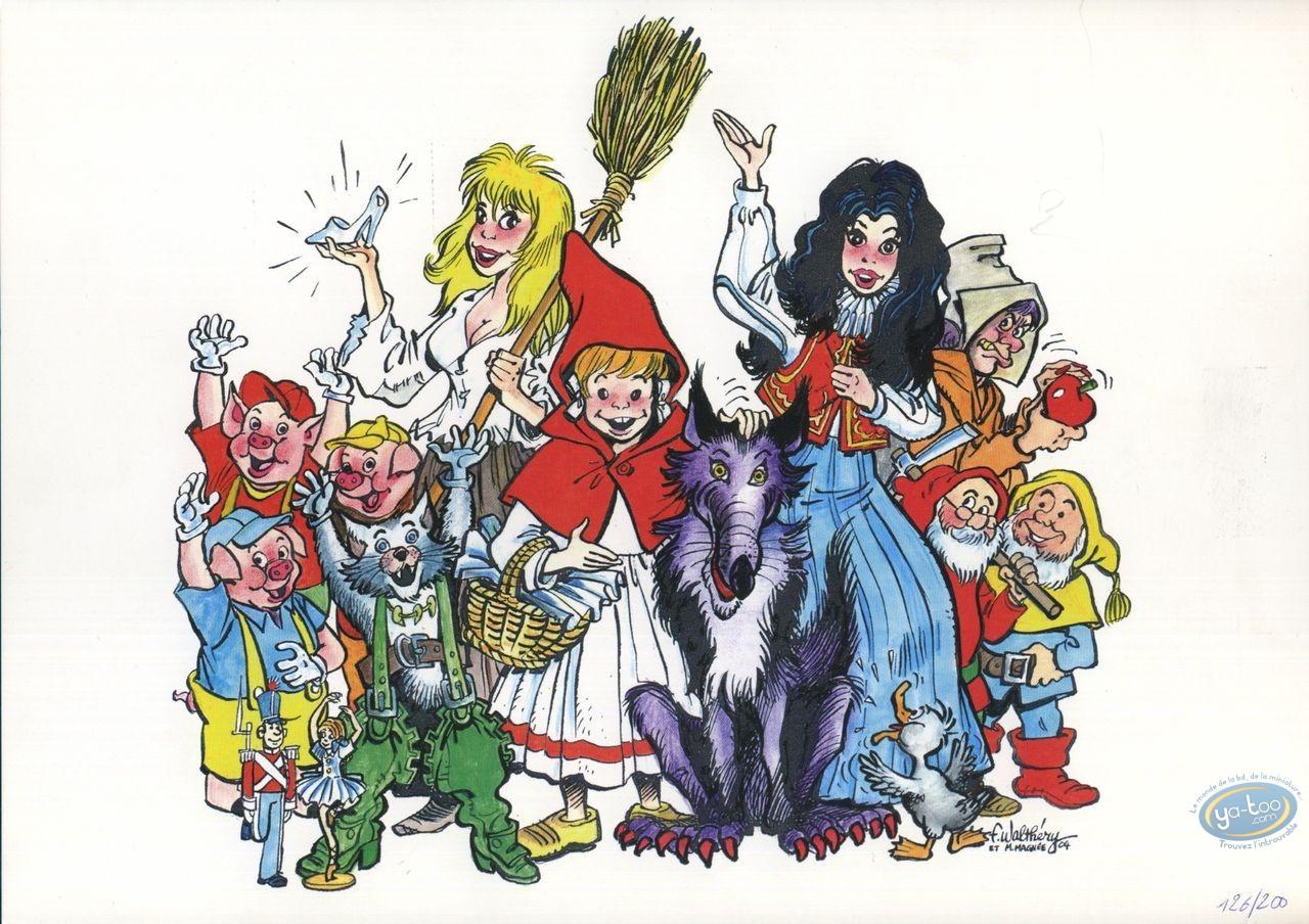 Bookplate Offset, Children Stories