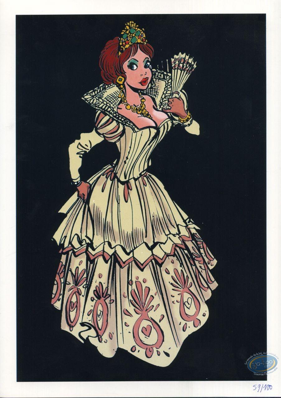 Bookplate Offset, Queen