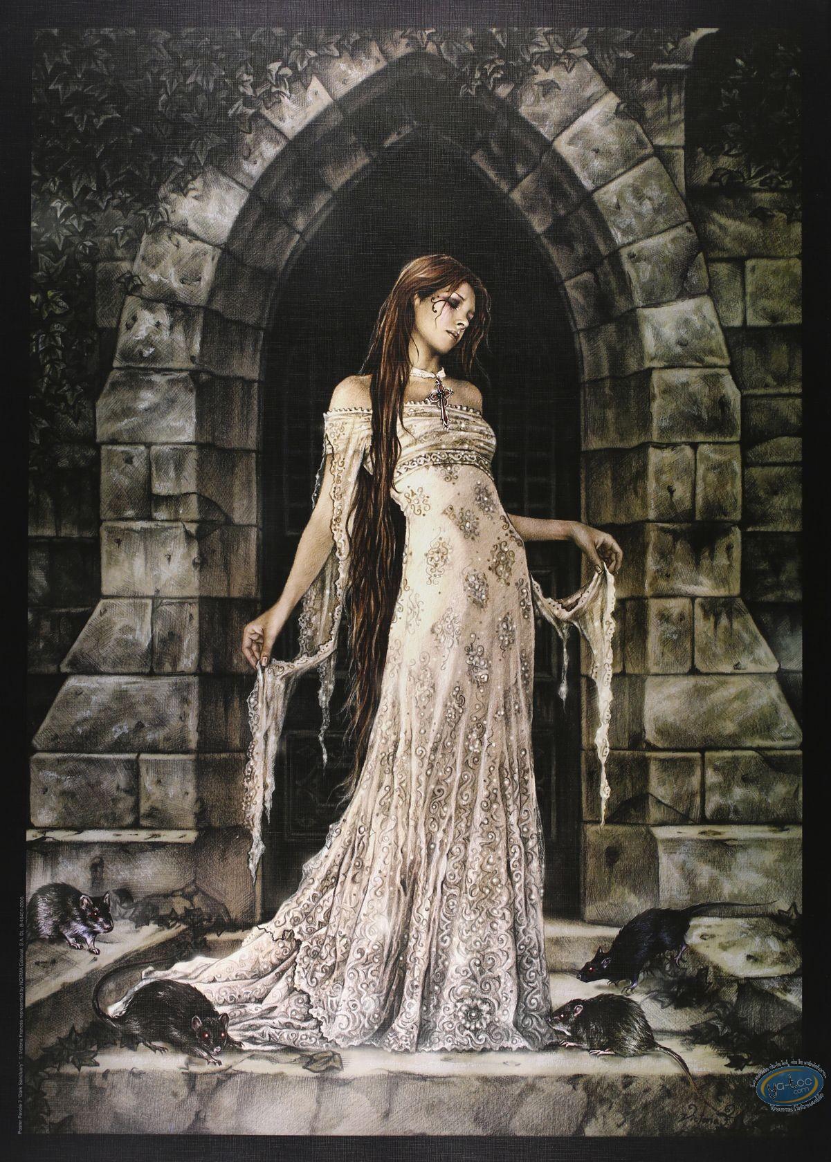 Offset Print, Frances : Dark Sanctuary