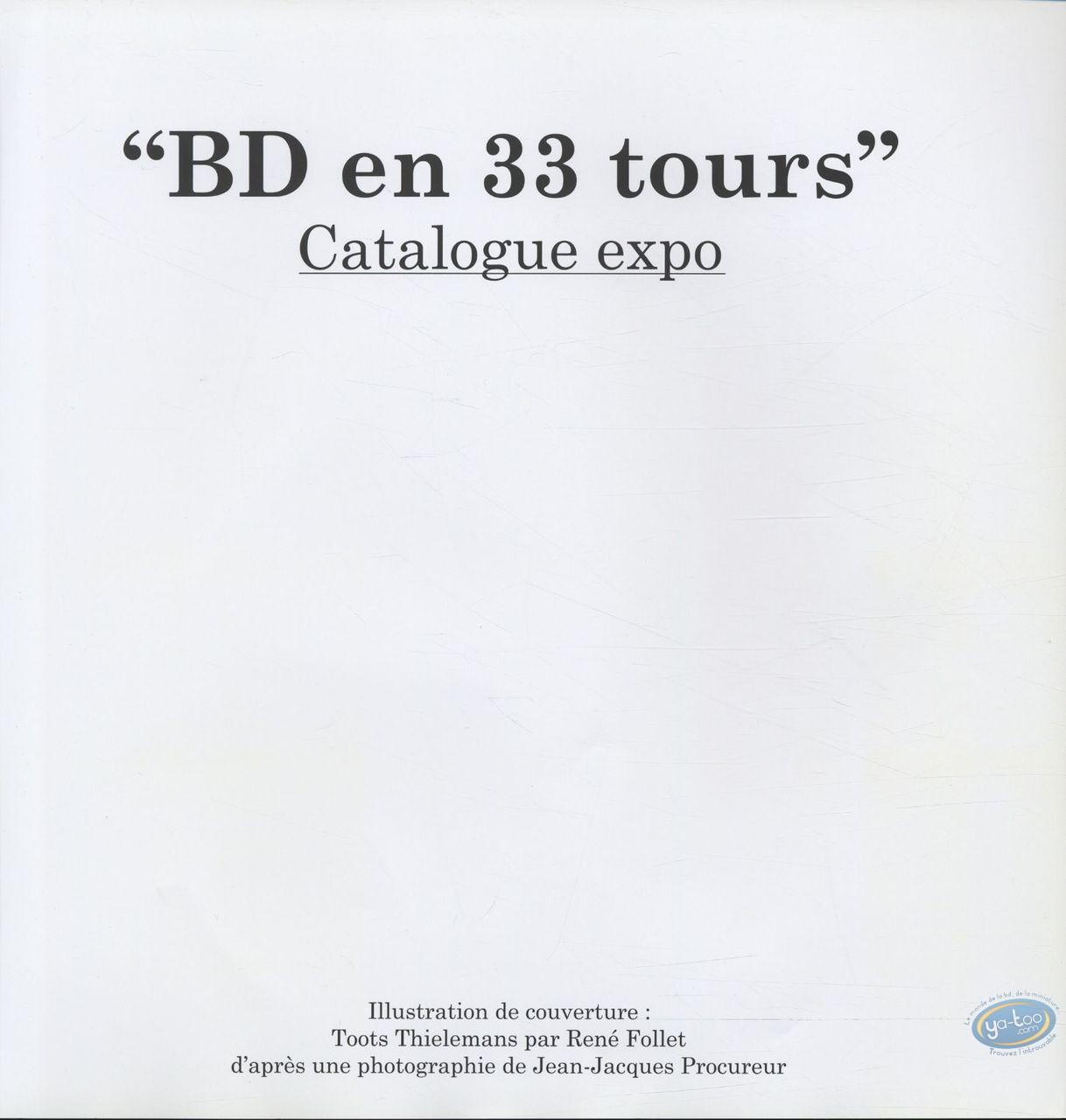Reduced price European comic books, BD en 33 Tours : BD en 33 tours + ex-libris Dany + ex-libris Reculé aquarellé