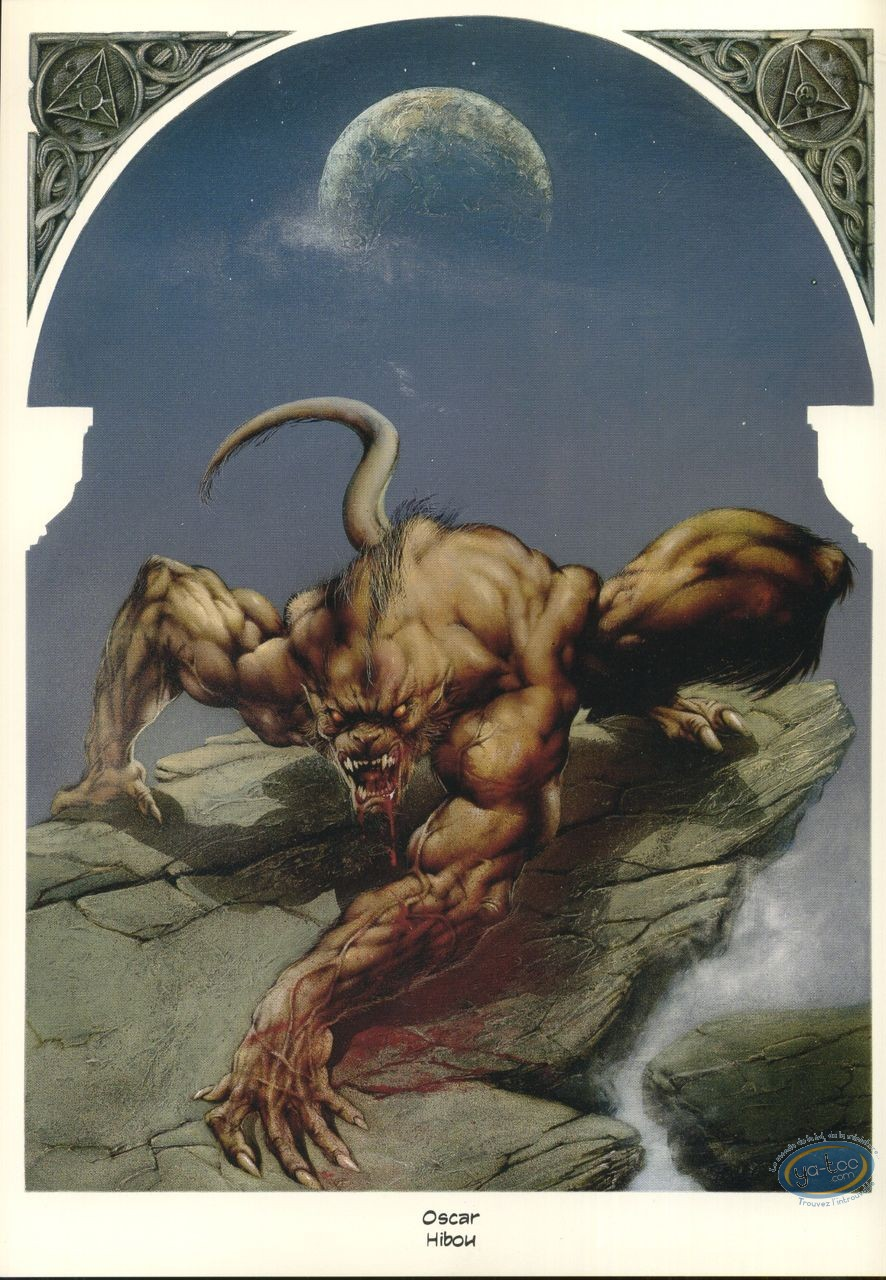 Bookplate Offset, Garous : Werewolf