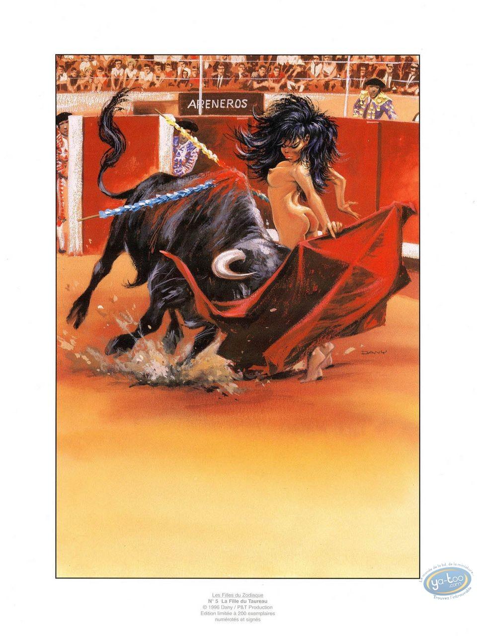 Offset Print, Filles du Zodiaque (Les) : The Taurus girl