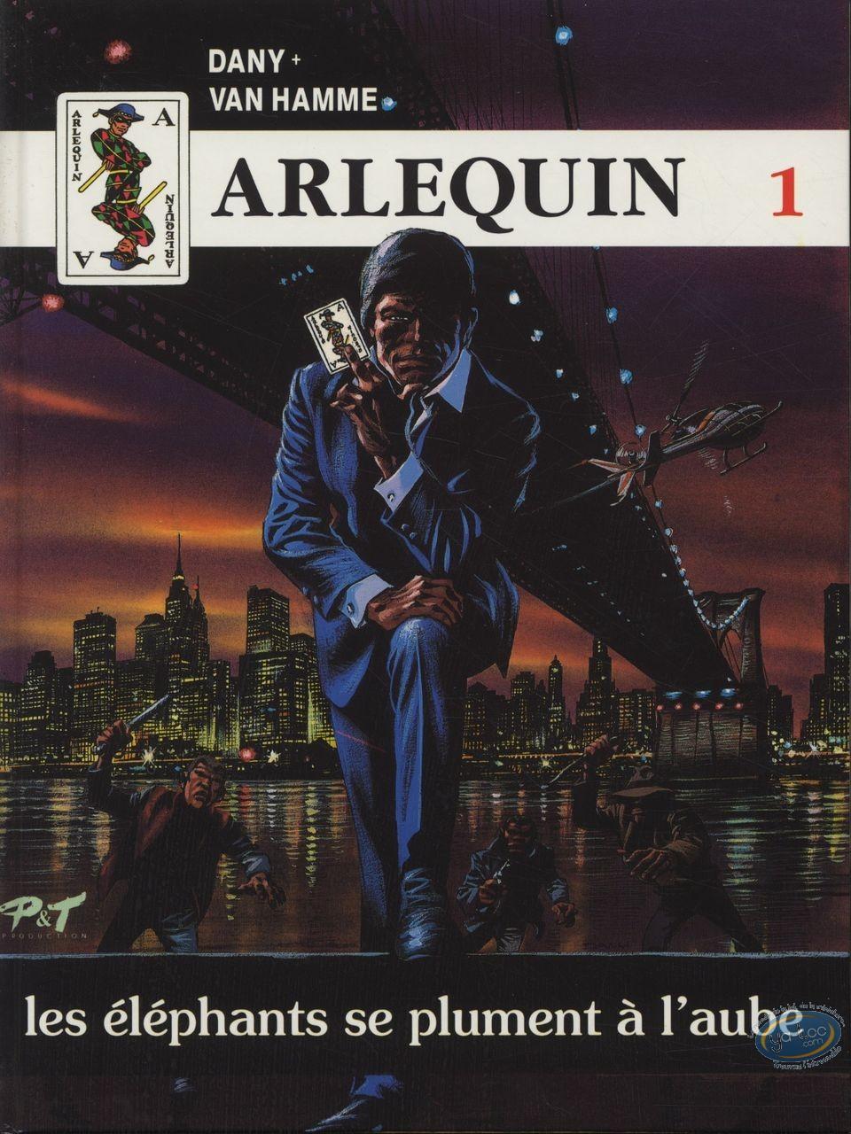 European Comic Books, Arlequin : box + +