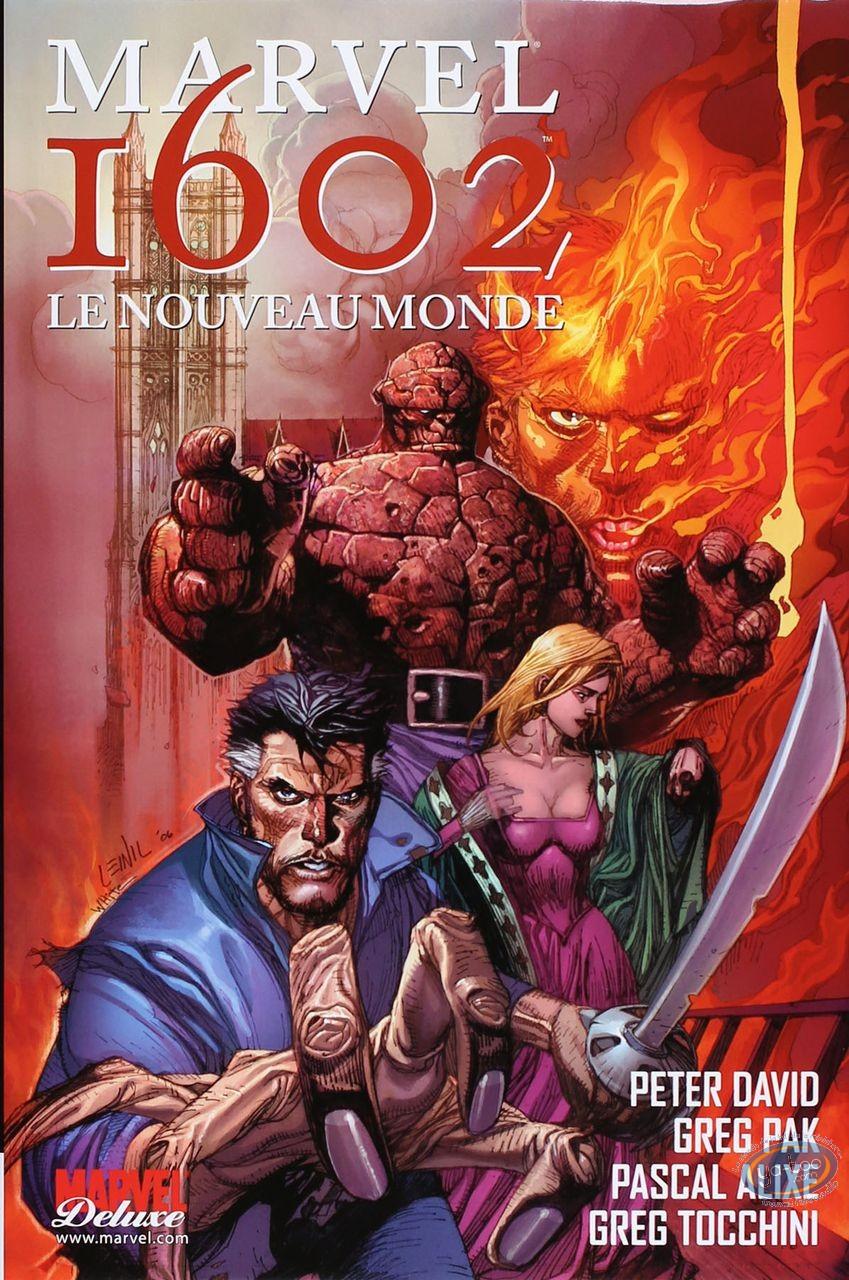 Reduced price European comic books, Marvel 1602 : Le Nouveau Monde