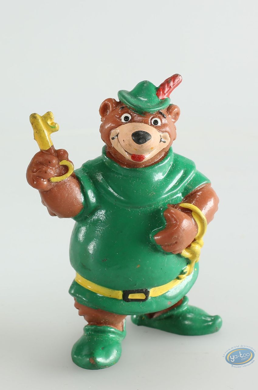 Plastic Figurine, Robin des Bois : Petit Jean, Disney