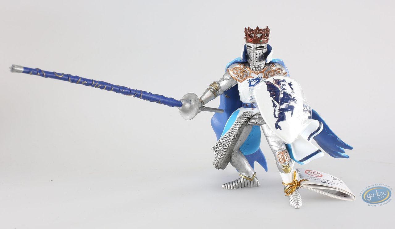 Plastic Figurine, King with blue dragon