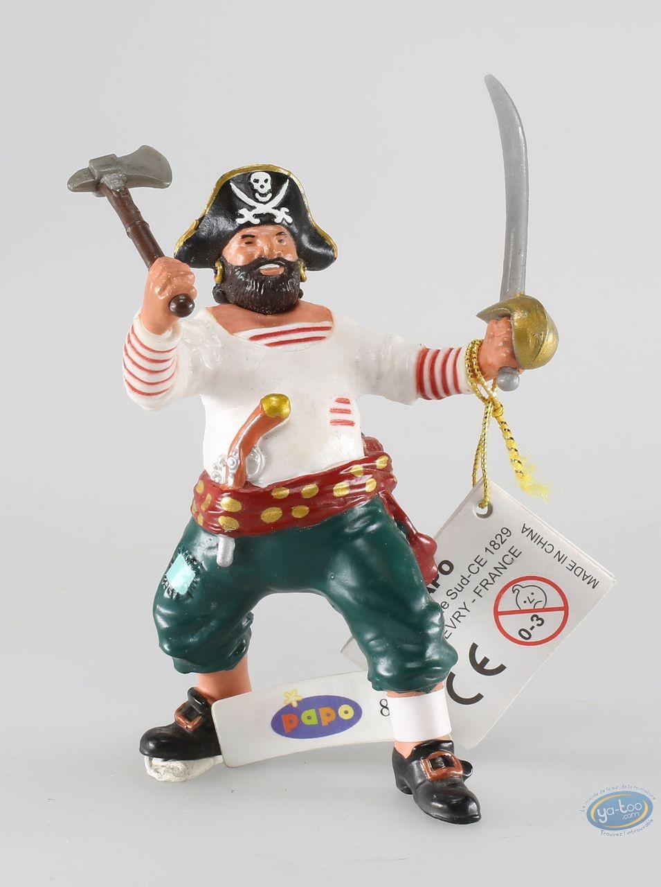 Plastic Figurine, Pirates : Corsair with ax