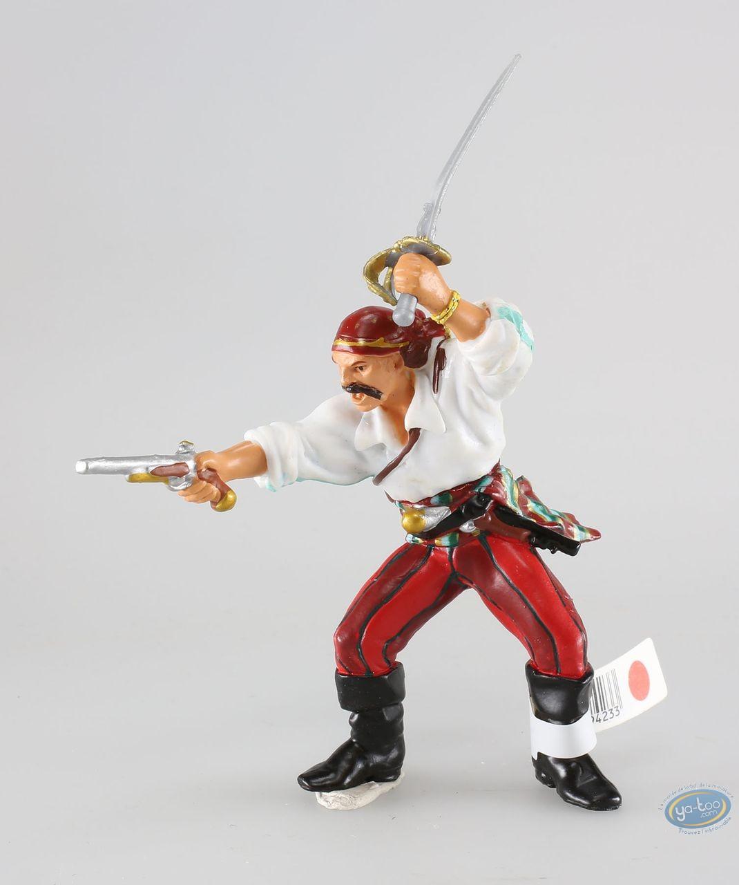 Plastic Figurine, Pirates : Corsair with gun