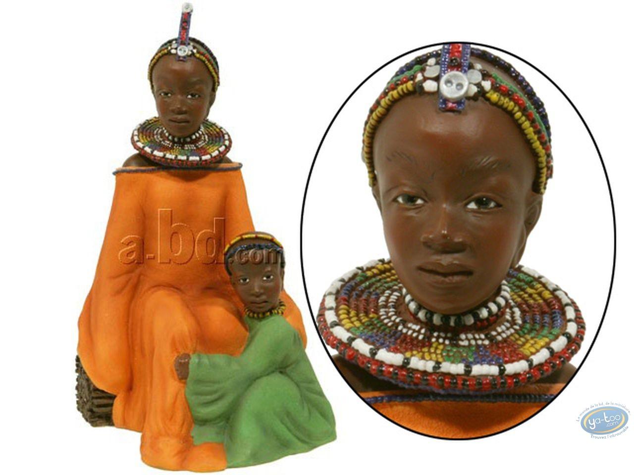 Resin Statuette, Salima - en bonnes mains