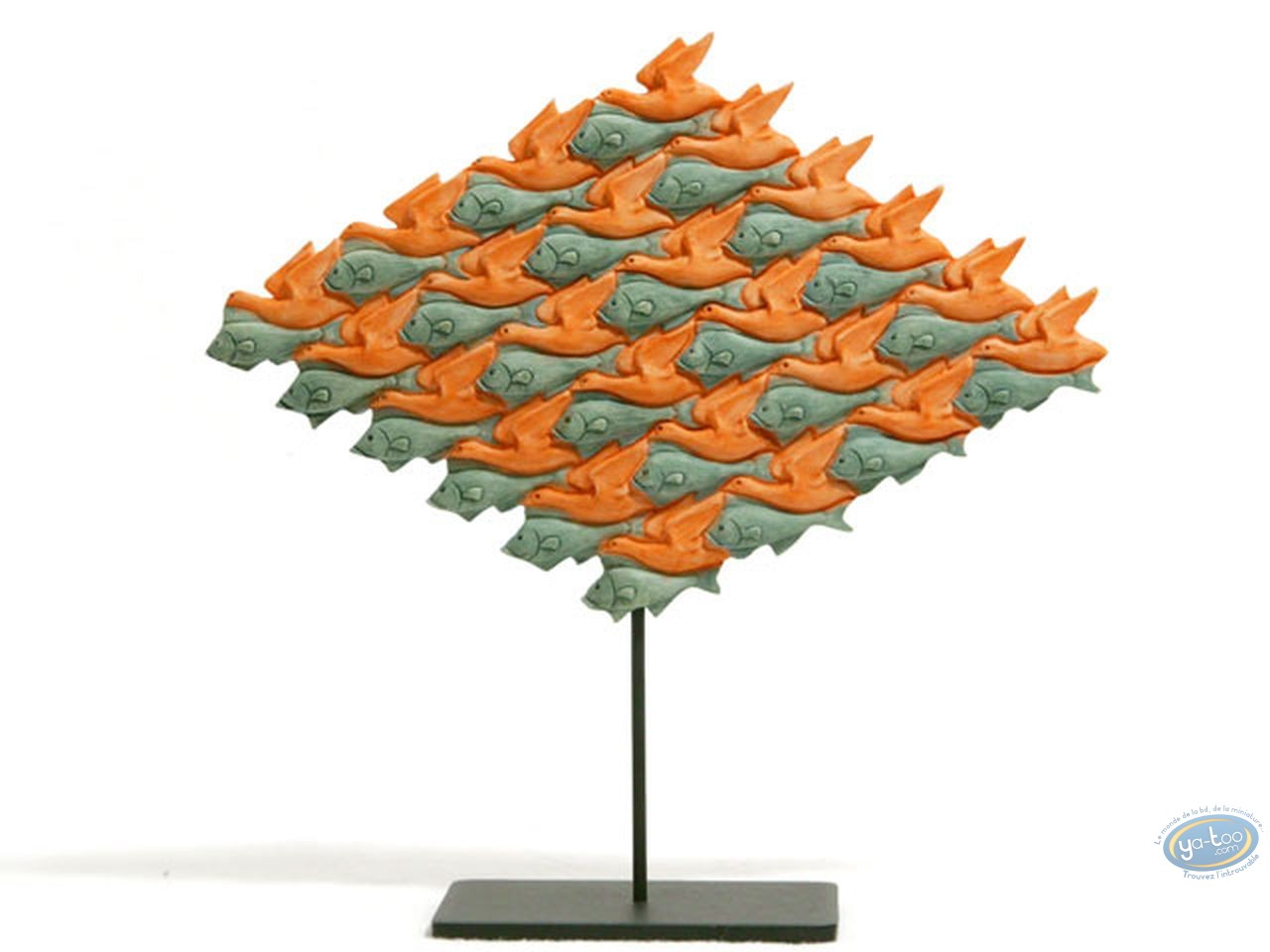 Resin Statuette, Tableaux en 3D : Bird-Fish