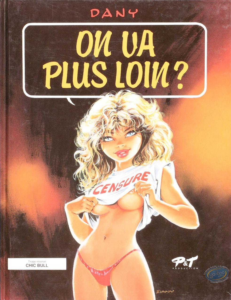 Listed European Comic Books, Ca vous intéresse ?  : On va plus loin ?