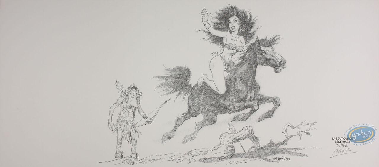 Jacket, Saintes Nitouches (Les) : Beauty on horse