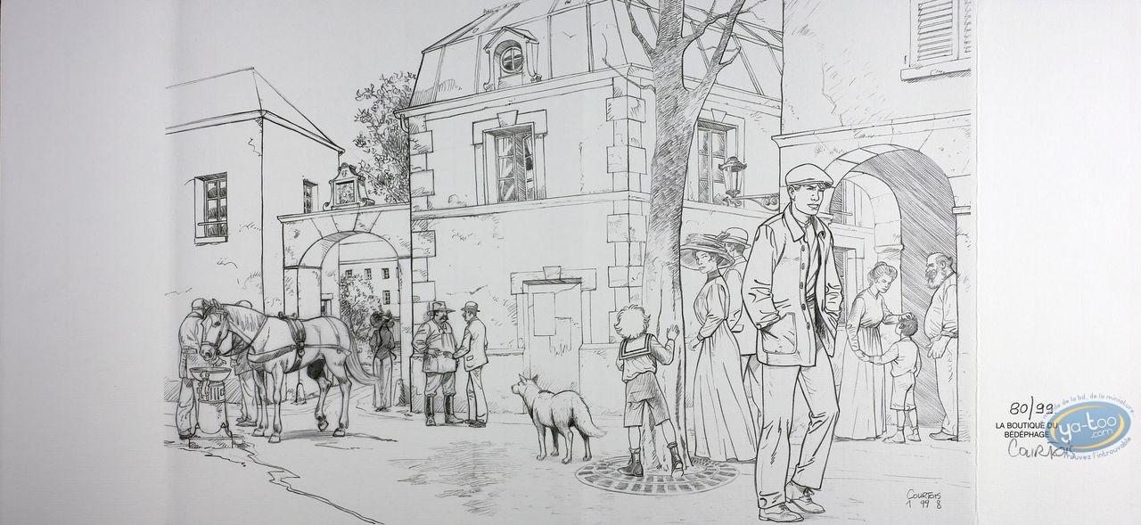 Jacket, Louis Ferchot : Wallking in the street