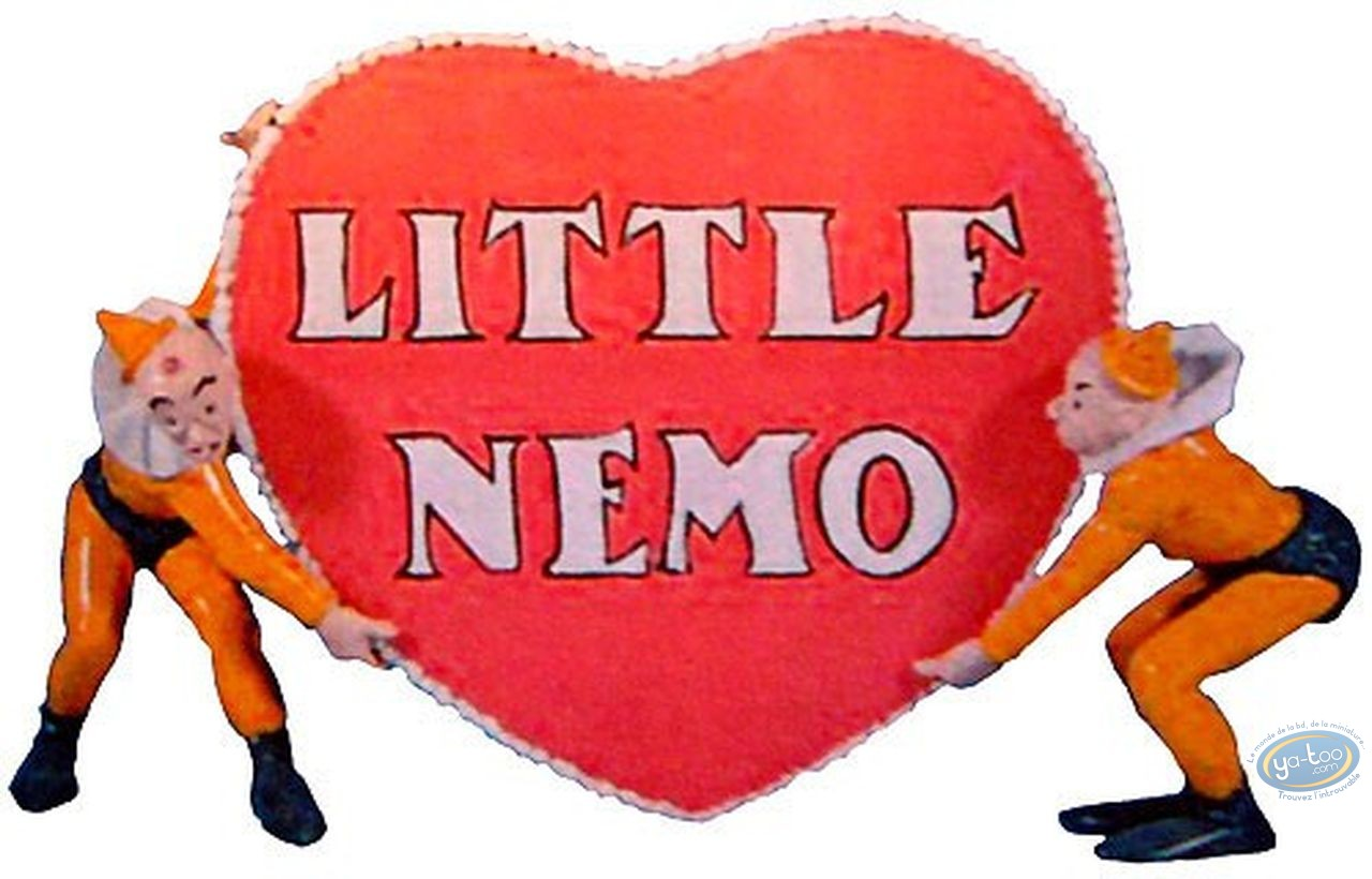 Metal Figurine, Little Nemo : Slumberland's heart, Pixi