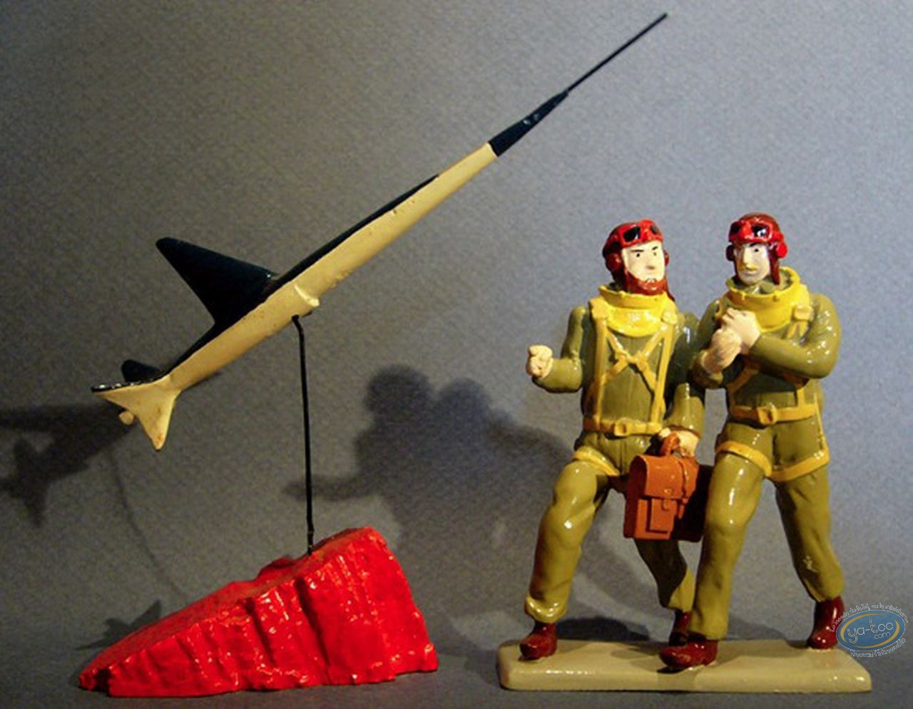 Metal Figurine, Blake and Mortimer : Blake, Mortimer & Espadon, Pixi