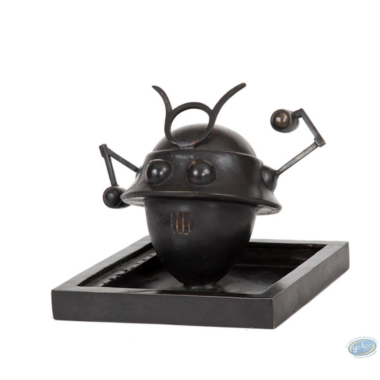 Bronze Statuette, Blake and Mortimer : The Samurai Robot, Pixi