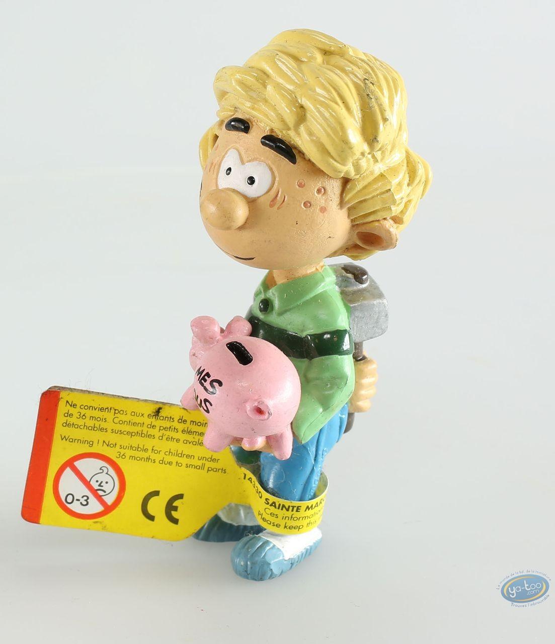 Plastic Figurine, Cedric : Cédric tirelire