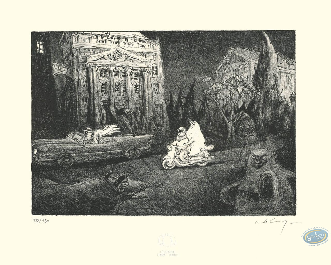 Lithography, The Scooter