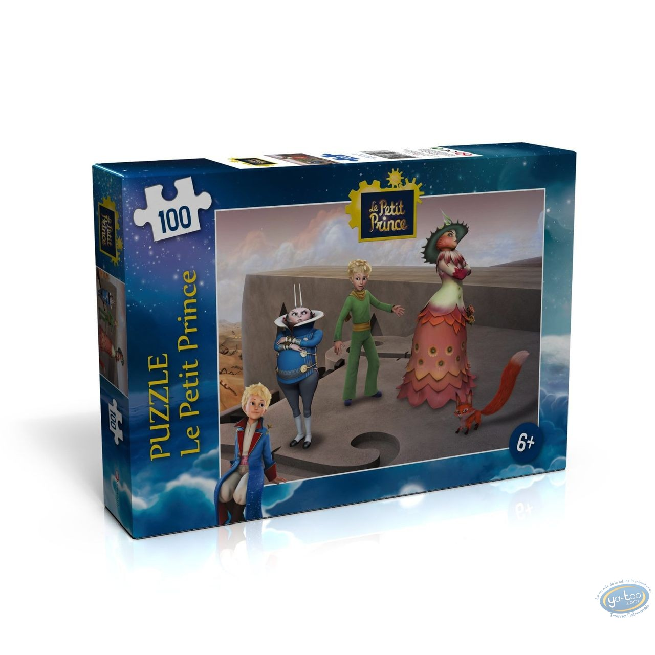 Toy, Little Prince (The) : Puzzle 100 pieces - The dispute