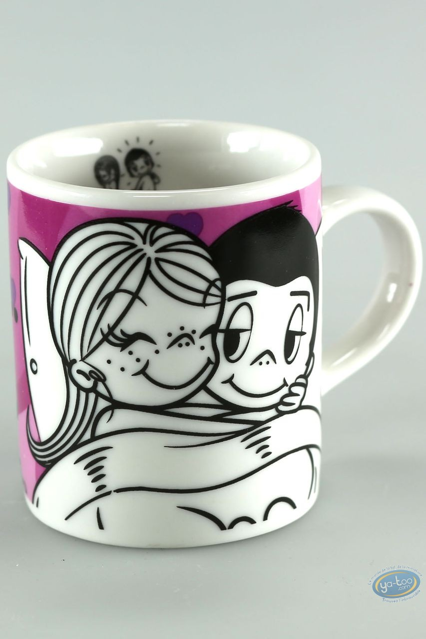 Tableware, Love is … : Mini mug, Love is... : Liebe ist ... unter einer decke zu stecken
