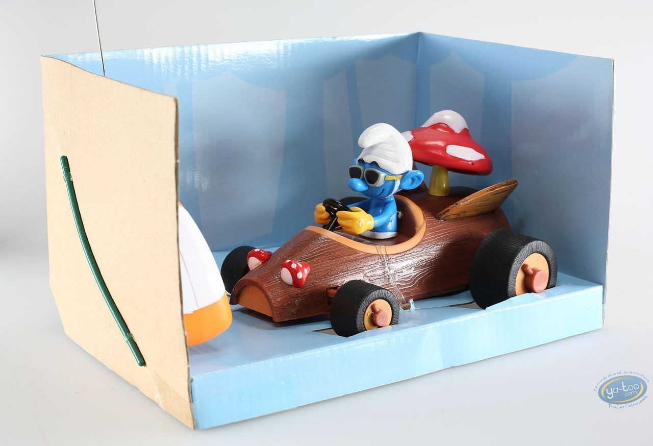 Toy, Smurfs (The) : Radio Control vehicle, Sporty's Log Racer