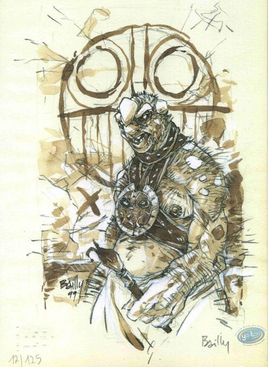 Bookplate Offset, Coeur de Sang (Le) : Monster