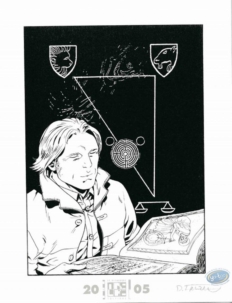 Bookplate Offset, Triangle Secret (Le) : The Book