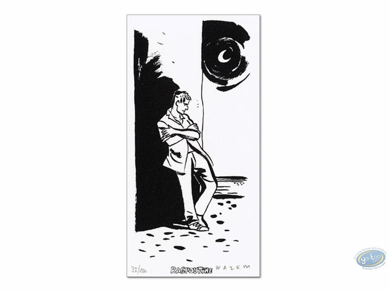 Bookplate Serigraph, Scorpions du Désert (Les) : Les Scorpions du Désert