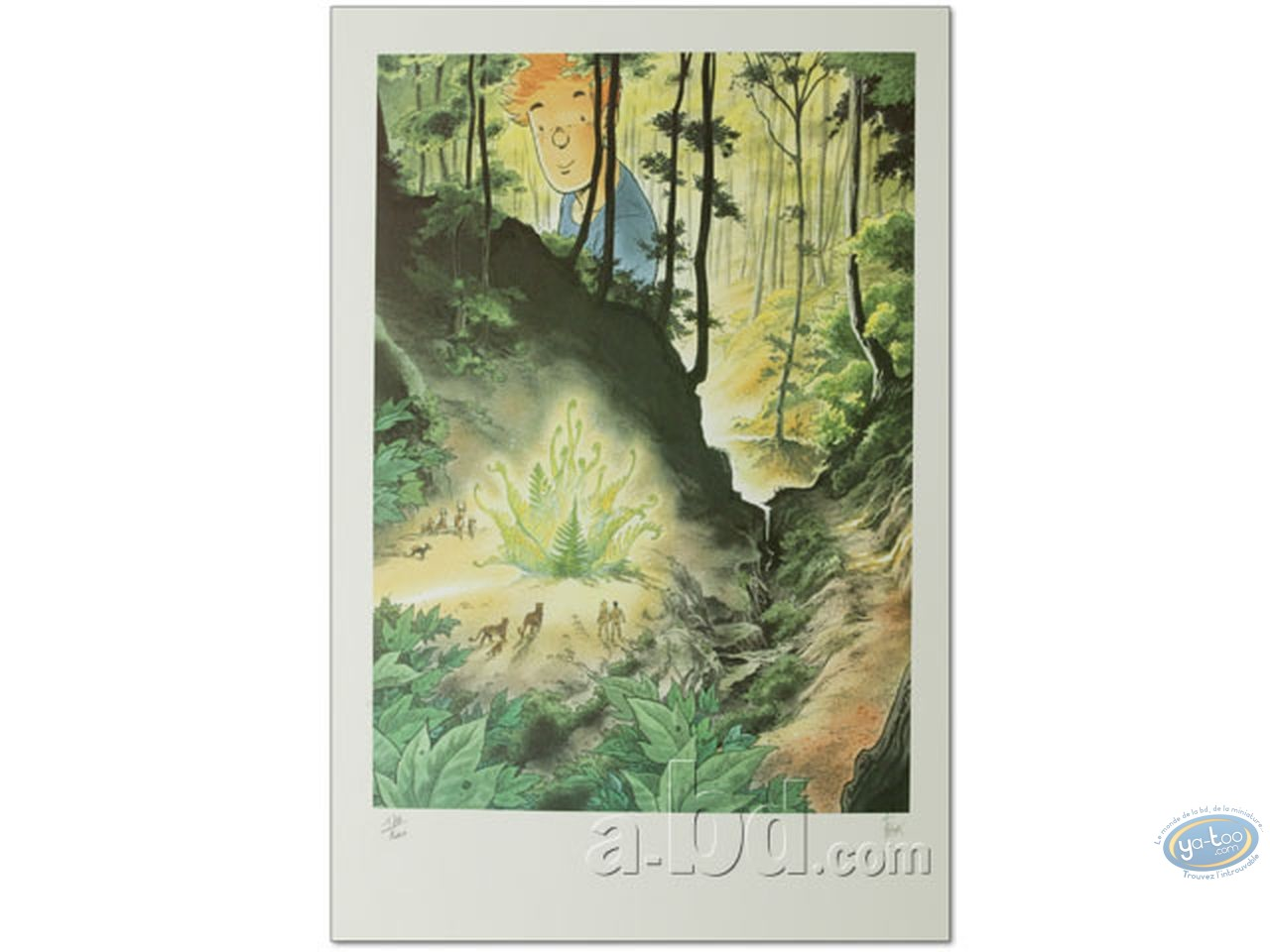 Offset Print, Broussaille : The Forest