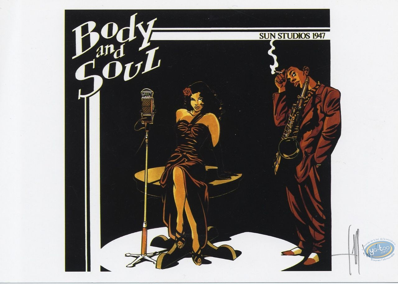 Bookplate Offset, Tequila Deperados : Body and Soul