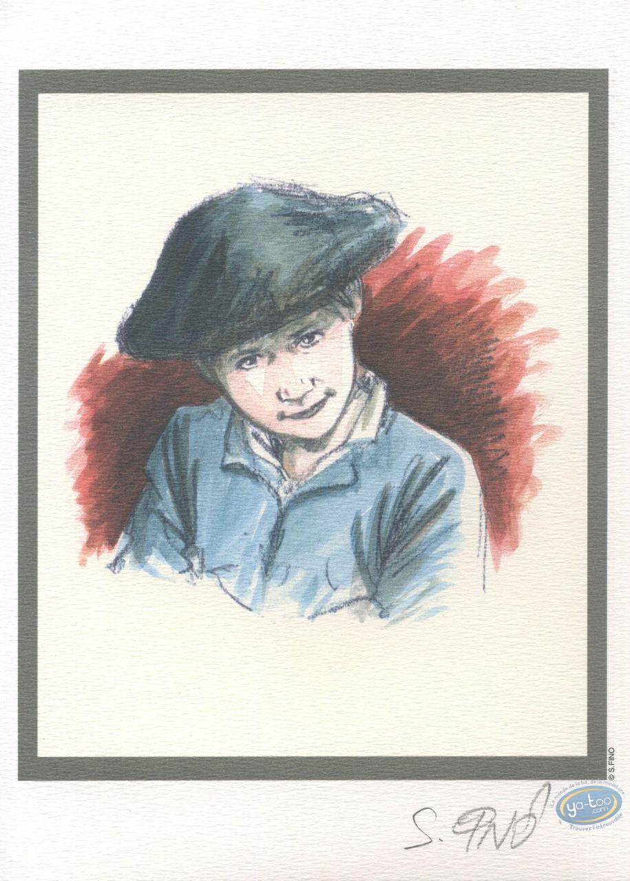 Bookplate Offset, Chasseurs d'Ecume (Les) : Portrait
