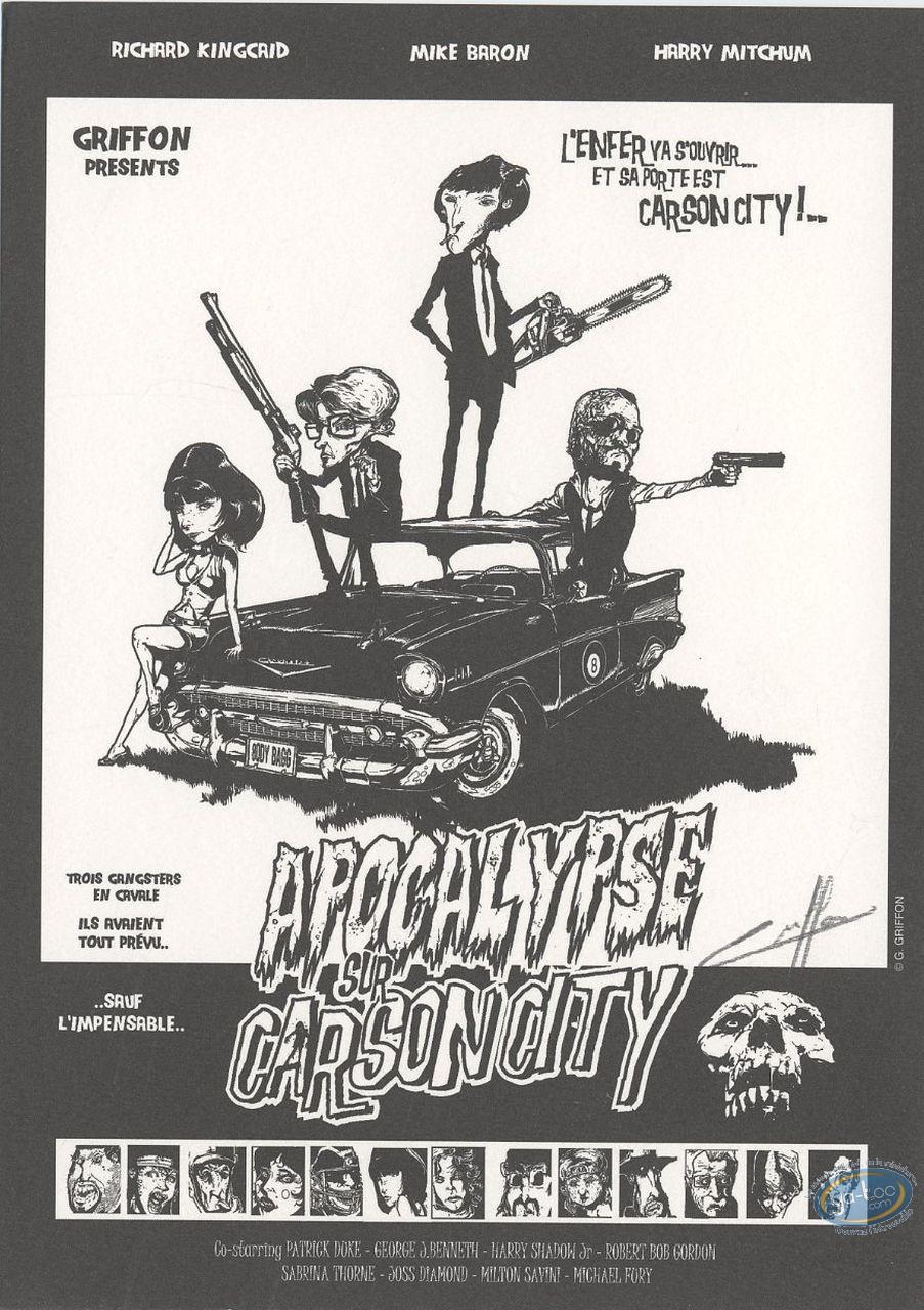 Bookplate Offset, Apocalypse sur Carson City : Apocalypse sur Carson City