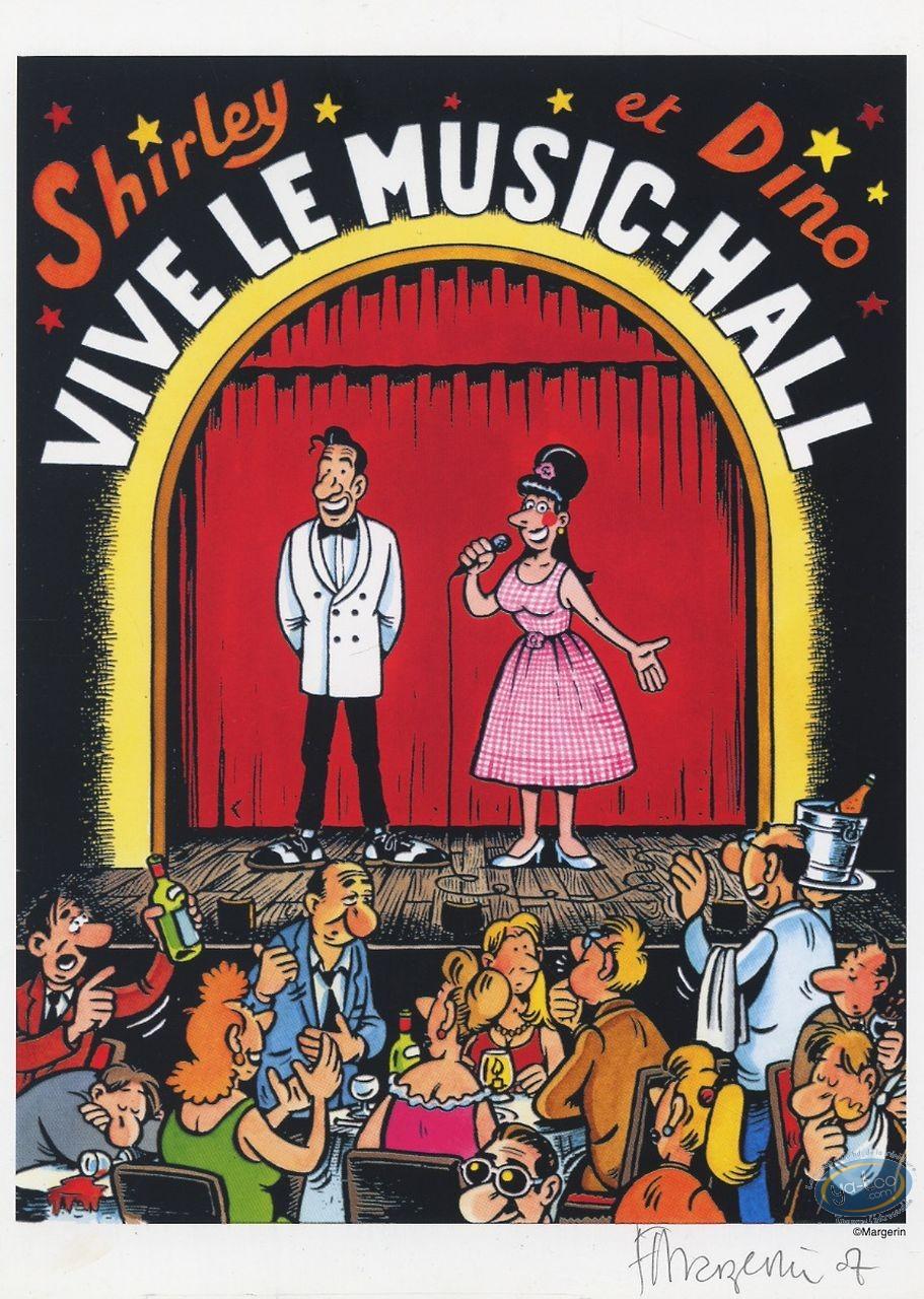 Bookplate Offset, Shirley et Dino : Shirley et Dino