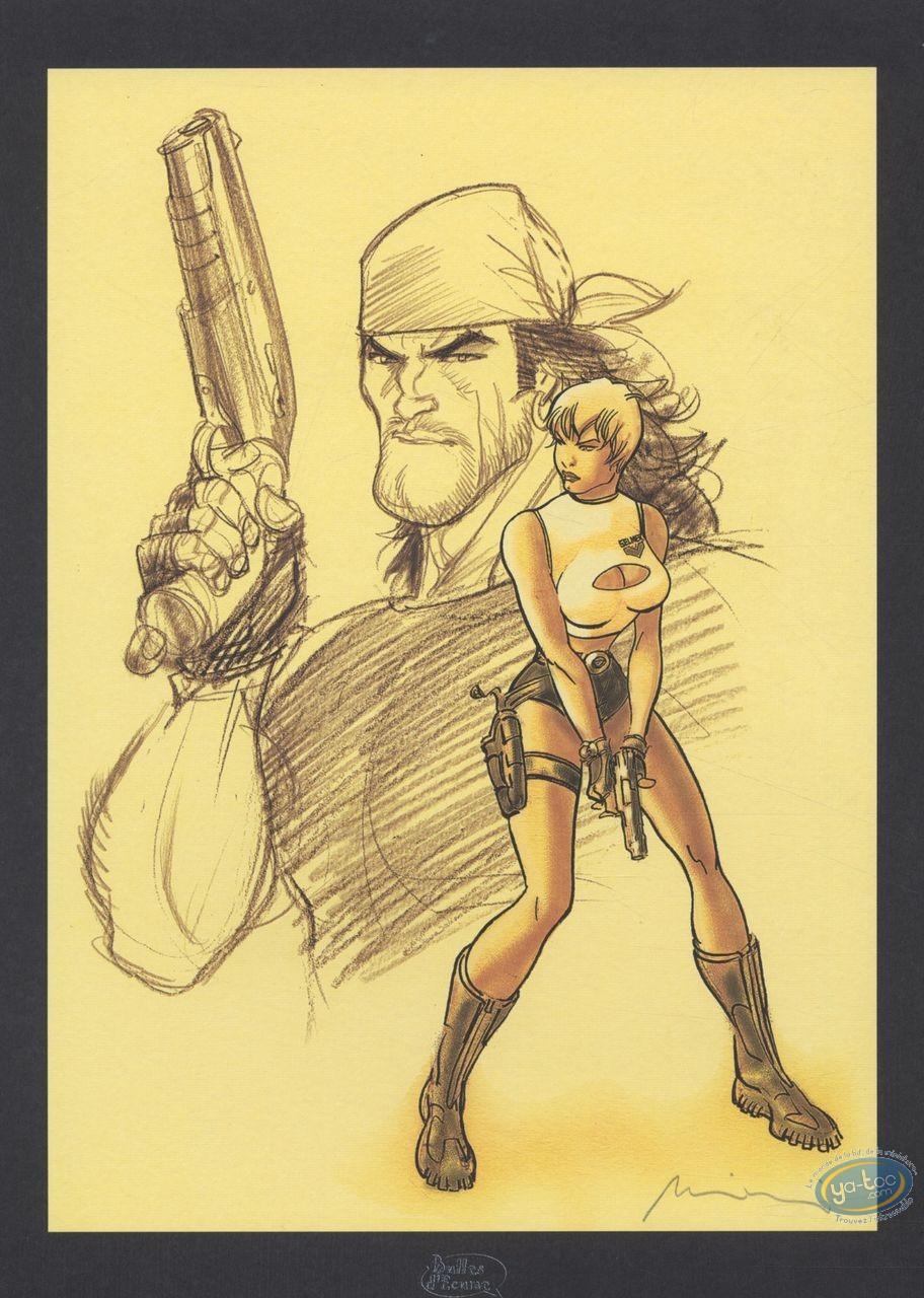 Bookplate Offset, Gipsy : Sketchs
