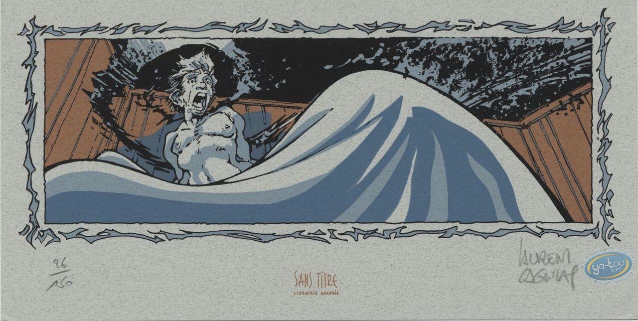 Bookplate Serigraph, Vauriens : Awake