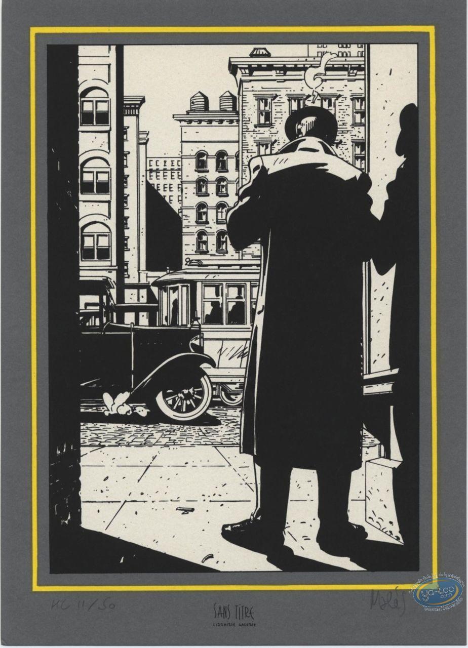 Bookplate Serigraph, Hammett : Street