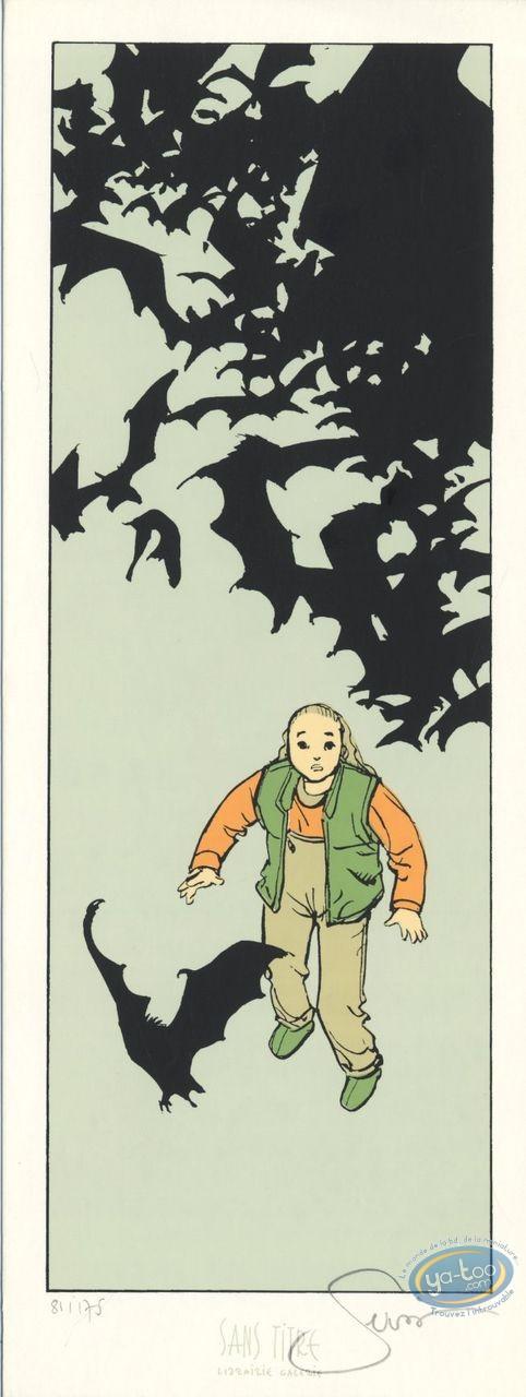 Bookplate Serigraph, Histoire de Siloë (L') : Bats