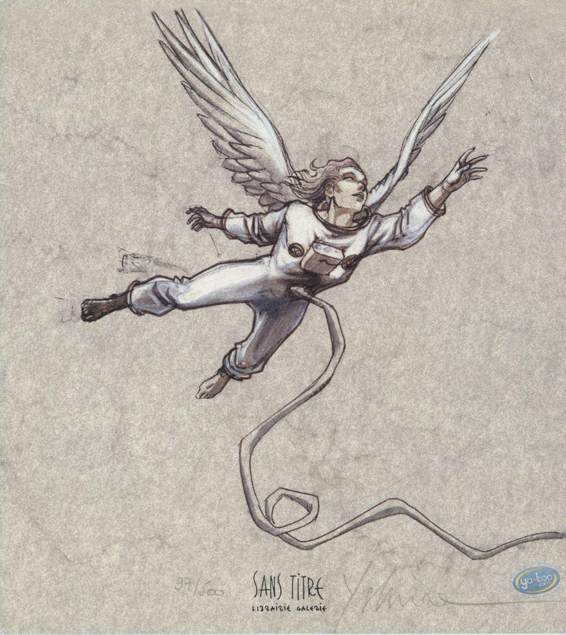 Bookplate Offset, Xxème Ciel (Le) : Angel Astronaut
