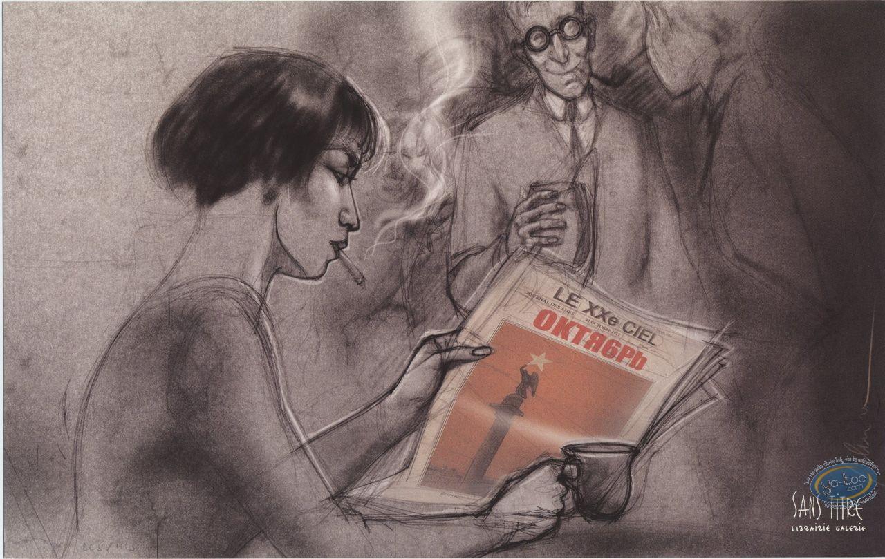 Bookplate Offset, Xxème Ciel (Le) : Newspaper