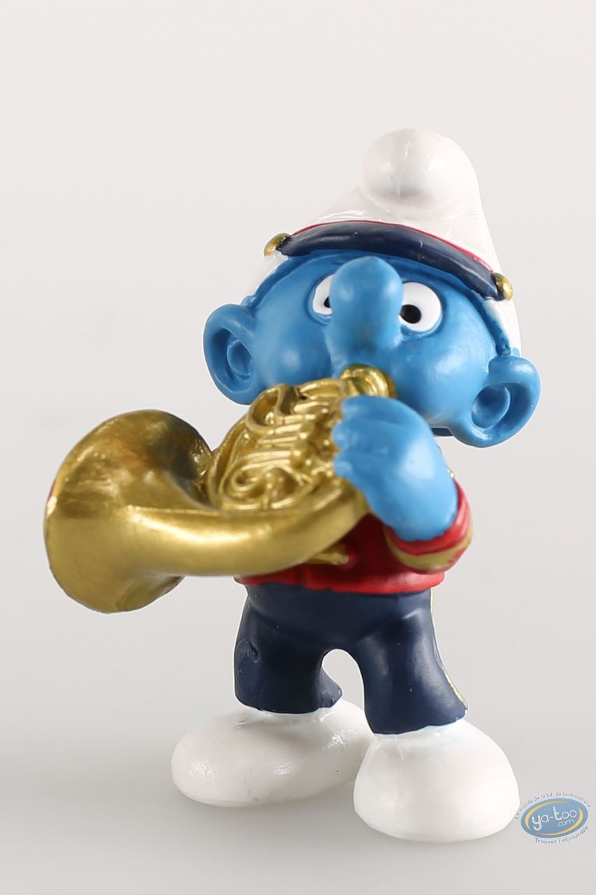 Plastic Figurine, Smurfs (The) : Schtroumpf Corniste