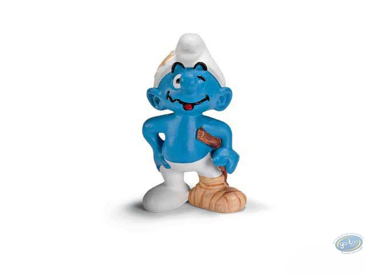Plastic Figurine, Smurfs (The) : Stuntman Smurf