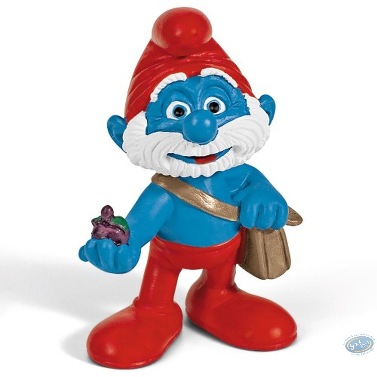 Plastic Figurine, Smurfs (The) : Papa Smurf (movie version)