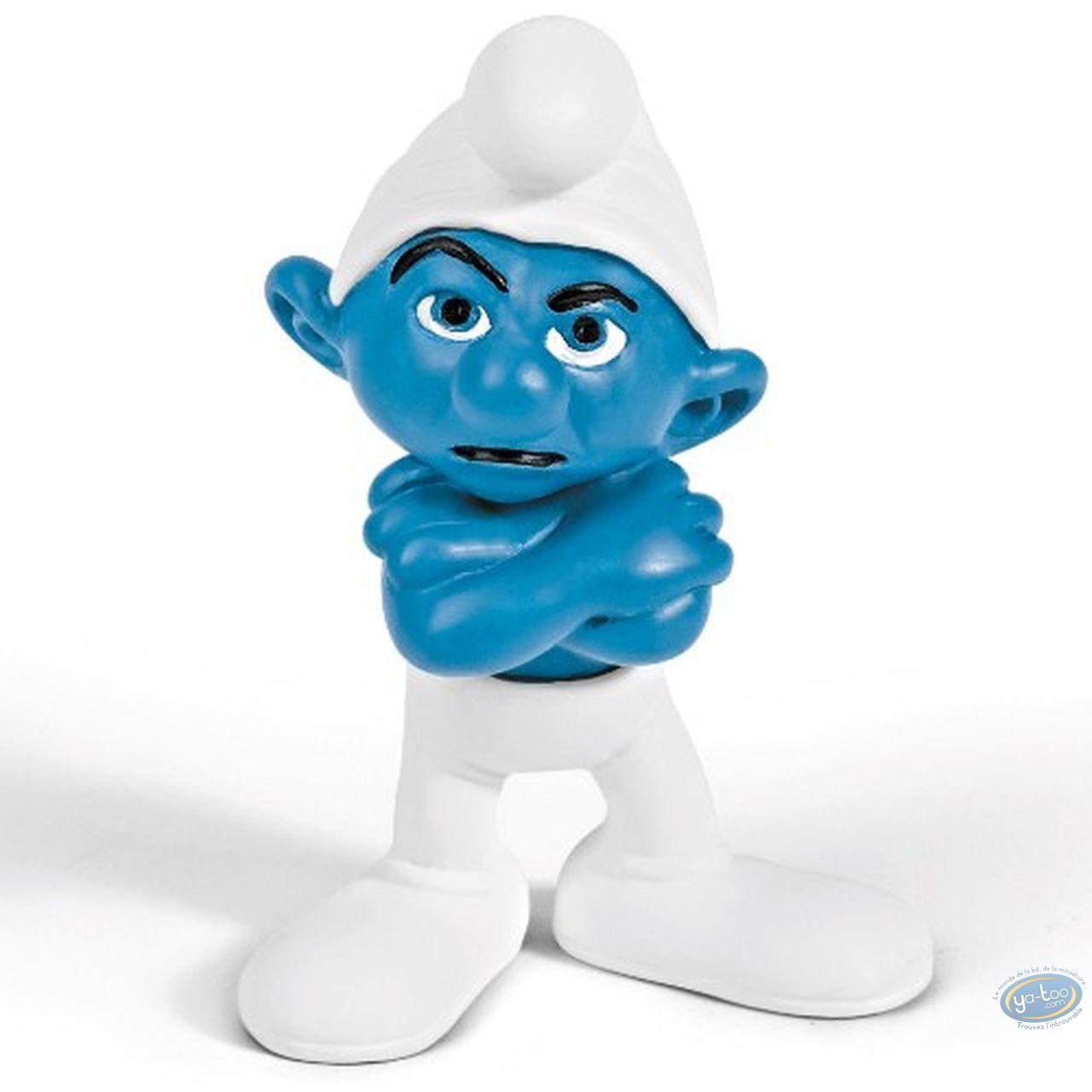 Plastic Figurine, Smurfs (The) : Grumpy Smurf (movie version)