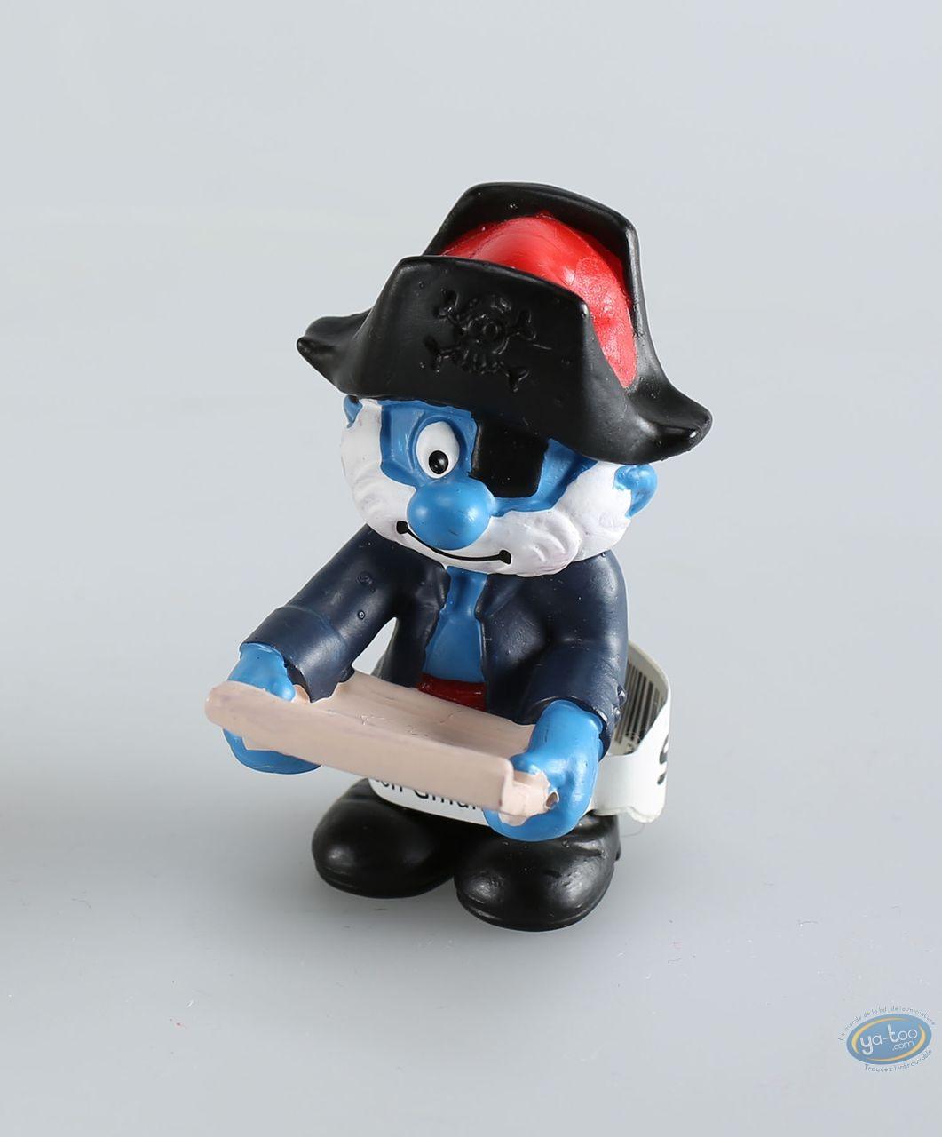 Plastic Figurine, Smurfs (The) : Captain Smurf