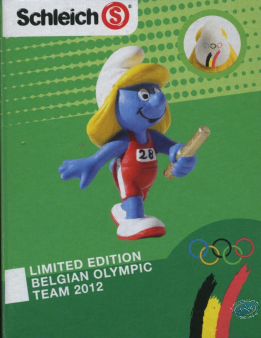Plastic Figurine, Smurfs (The) : Smurfette relais - Belgian Edition