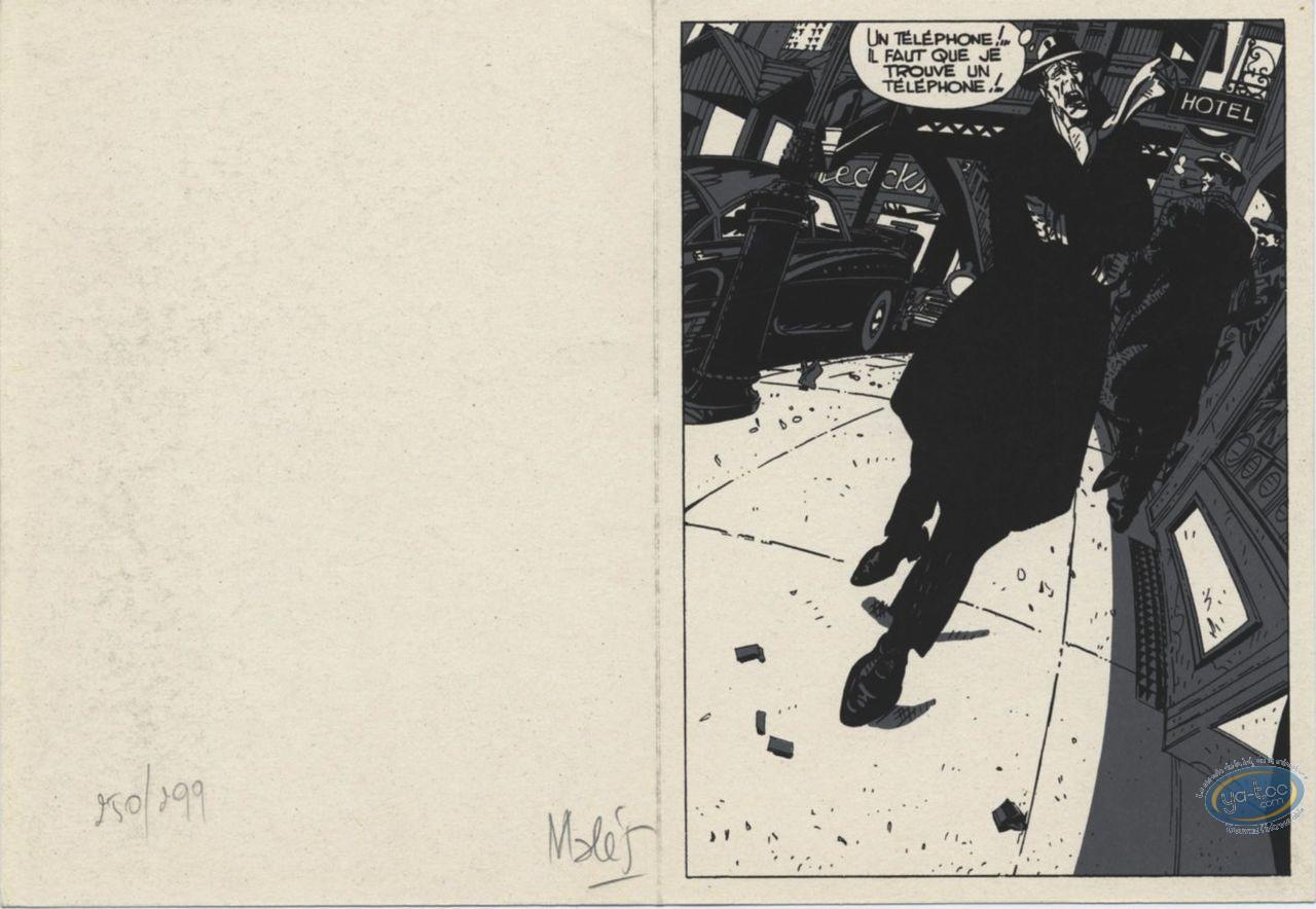 Bookplate Serigraph, Hammett : Malès, Hammett