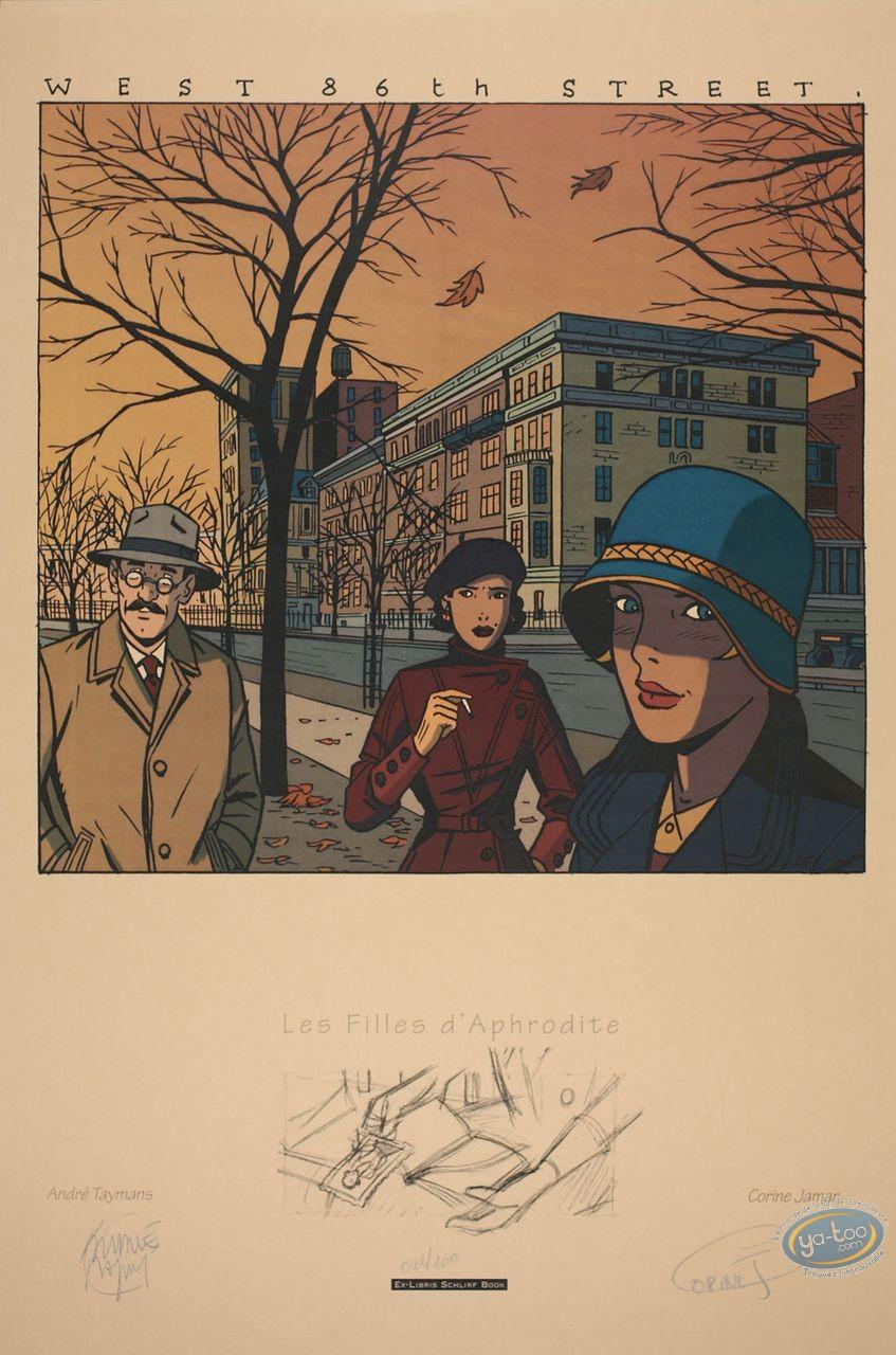 Serigraph Print, Filles d'Aphrodite (Les) : West 86th Street