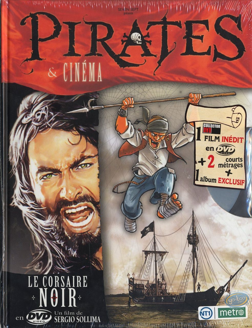 European Comic Books, Pirates et Cinéma : Pirates & cinéma