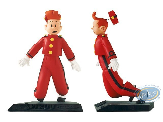 Resin Statuette, Spirou and Fantasio : Chaland, Spirou surprised